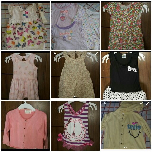 Take All Baby Clothes 6-12months Branded Free Sf