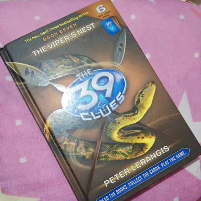 The 39 clues book 7 the vipers nest books books on carousell photo photo photo fandeluxe Images