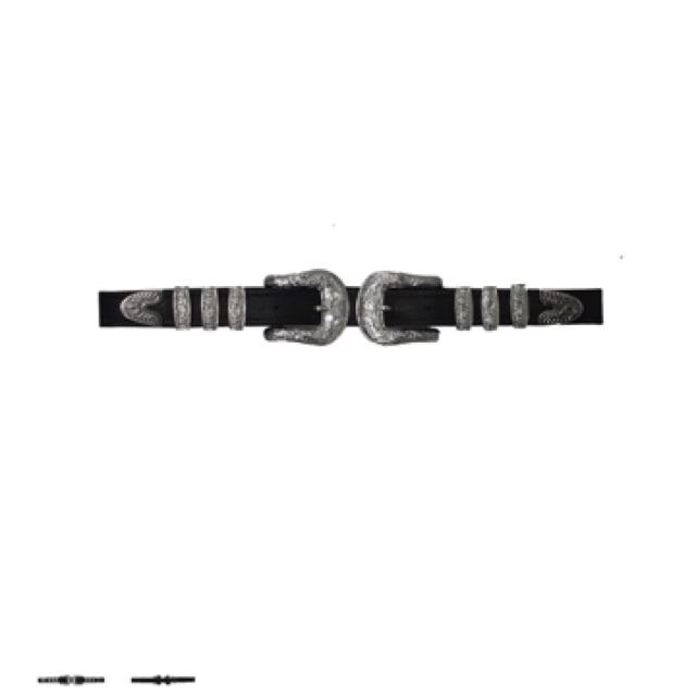 The Lair Leather Concho Belt