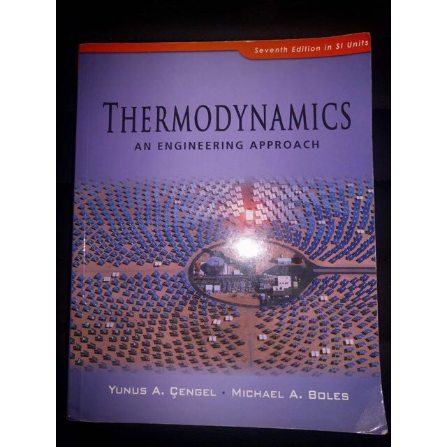 Thermodynamics An Engineering Approach 7 Edition