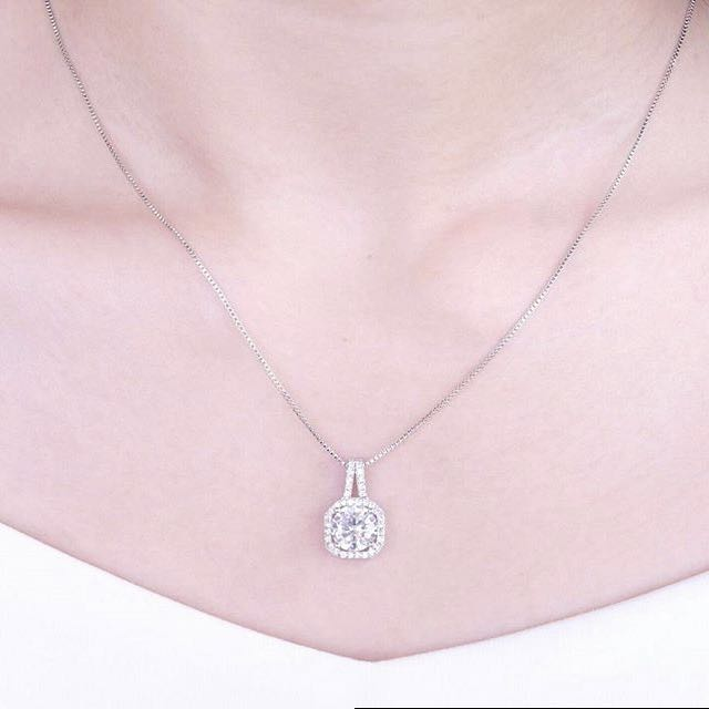 Tiffany And Co Silver Necklace