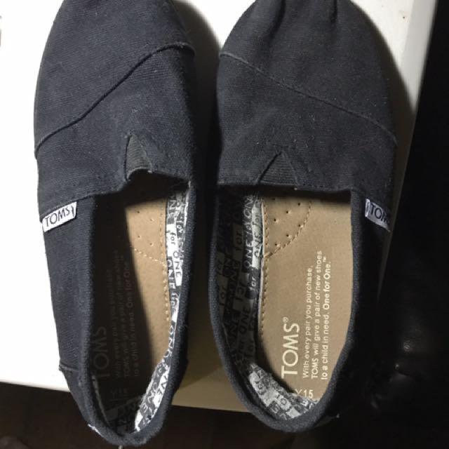 Tom's Black Size Y1.5