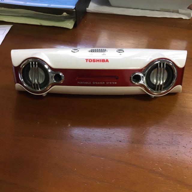 Toshiba Portable Speakers