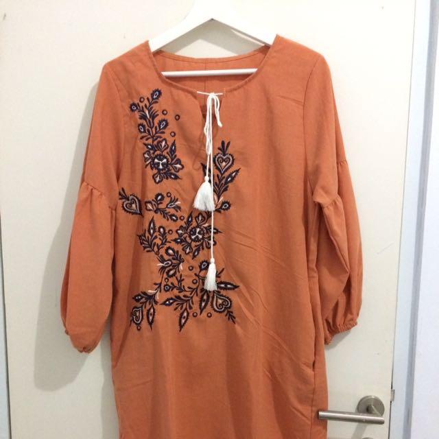 Tunik Embroidery