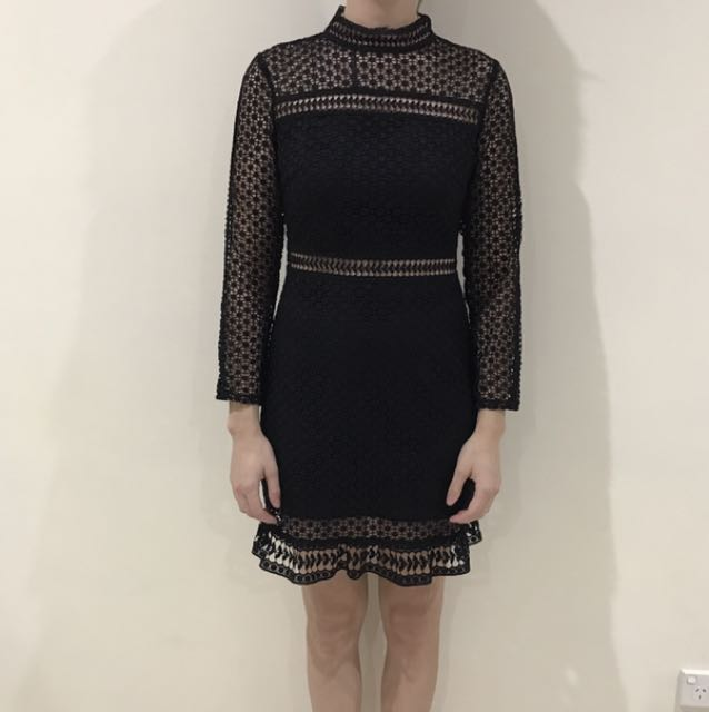 Two Sisters The Label Black Dress