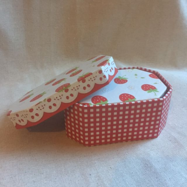 Two Strawberry Boxes