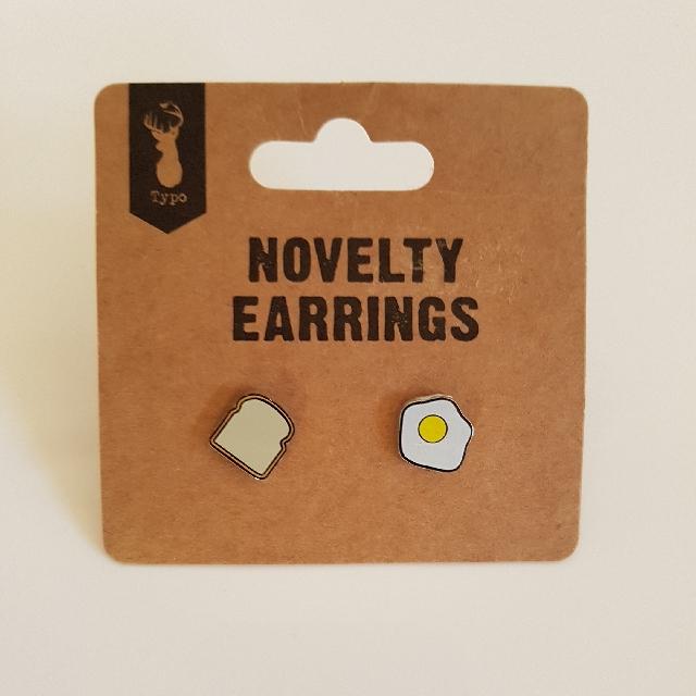 Typo Novelty Earrings