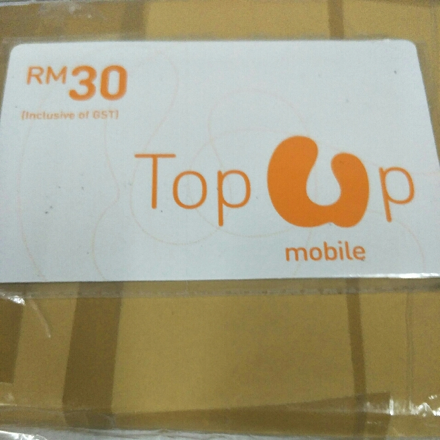 Oct10 U Mobile Rm 30 Top Up Card Mobile Phones Tablets Mobile Tablet Accessories On Carousell