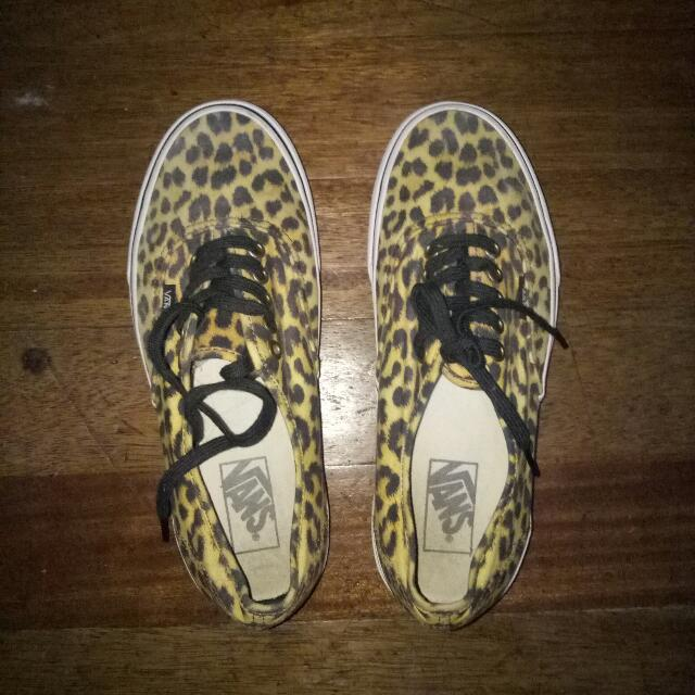 Vans Authentic Leopard - 9Womens
