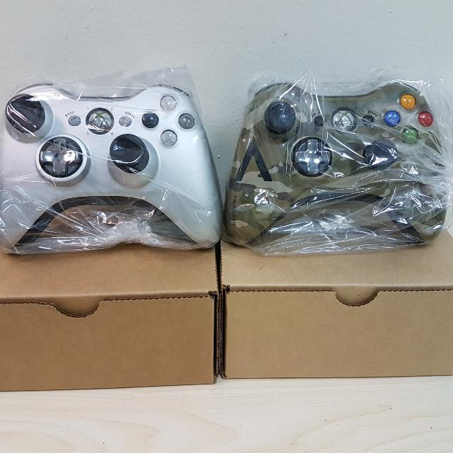 Xbox 360 Limited Edition Wireless Controllers Refurbisehed
