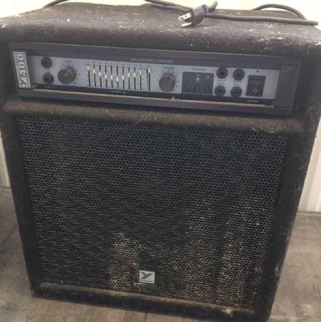 Yorkville Bass Master 400 Amp.