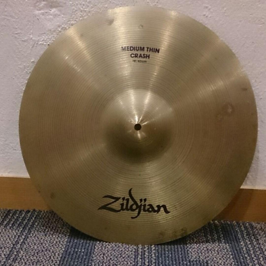 """Zildjian Medium Thin Crash 18"""""""