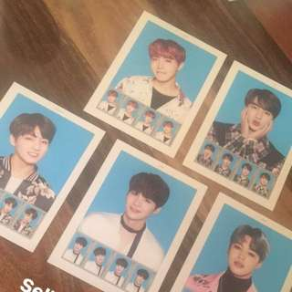 BTS Wings Tour Stamp