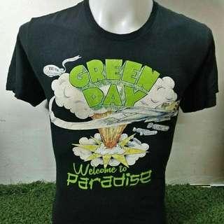 Tshirt Band GreenDay