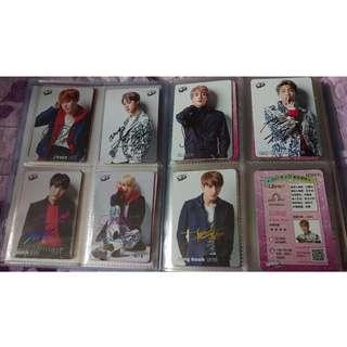 #Kpop BTS 방탄소년단 防彈少年團 YES card 卡