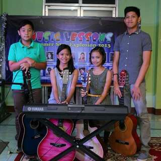 SUMMER LESSONS (Piano, Voice, Guitar, Drums) in Marikina, Pasig, Cainta, Taguig & Metro Manila