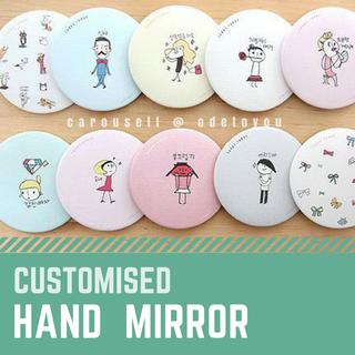 [Fansupport Goods] Hand Mirror