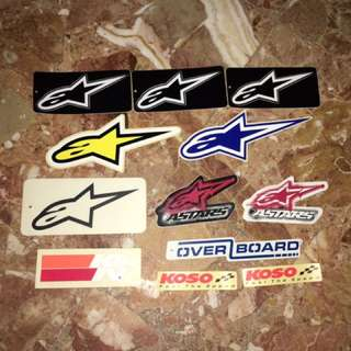 Assorted Stickers For Sale