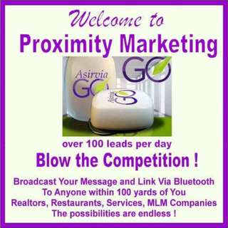 Promote your business anywhere!!