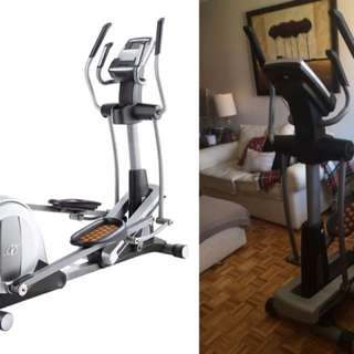NORDICTRACK ELLIPTICAL - sturdy, perfect condition, 4.5/5 stars