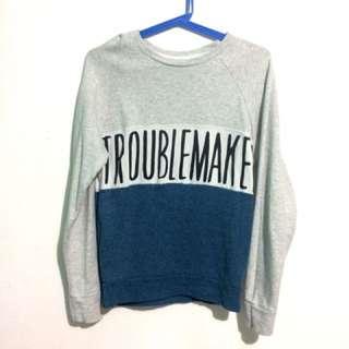 Penshoppe Troublemaker Sweatshirt