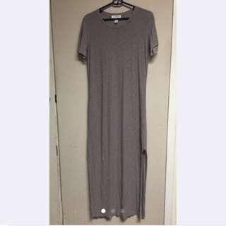 Long Beige Dress From Forever21
