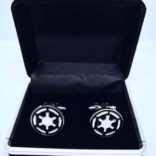 Novelty Cufflinks - Star Wars Empire Logo