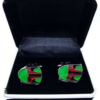 Boba Fett Novelty Cufflinks