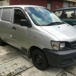 🎉Commercial Manual Van For Monthly Rental 🚐 🎉