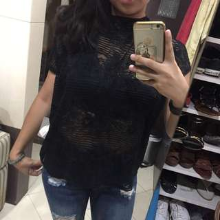Forever 21 Front-laced Shirt