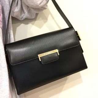 vintage ysl leather shoulder bag