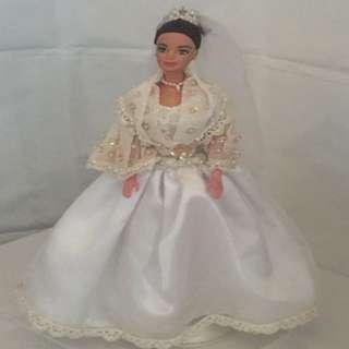 Vintage Maria Clara Wedding Barbie