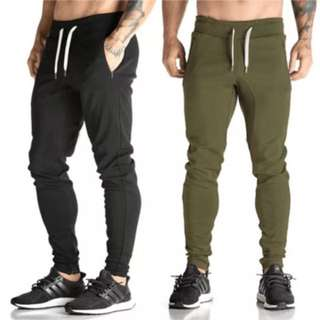 Mens Skinny Sweatpants Trackies Track pants Slim Fit