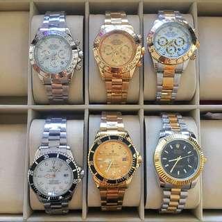 Various Rolex Replica