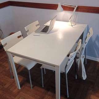 IKEA Laver 桌子 加 椅子