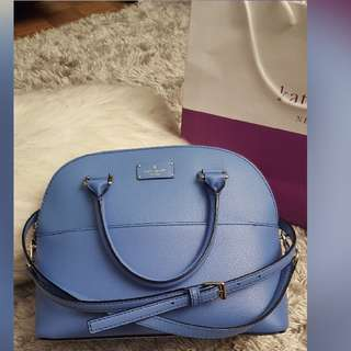 Price Drop! Blue Authentic Kate Spade Bag