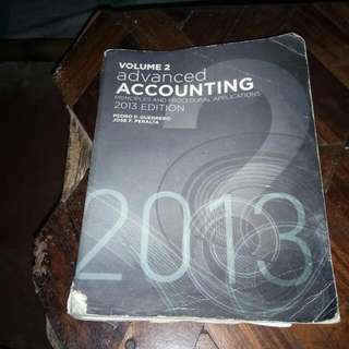 Advanced Accounting Volume 2 2013 Edition By Guerrero