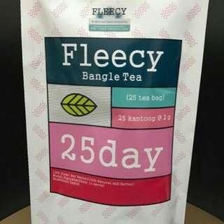 Fleecy Bangle Tea Pelangsing Tubuh