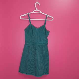 Target Green Jean Dress