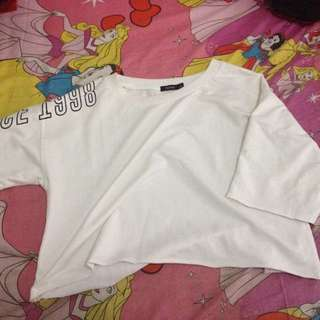 Bershka Crop Top T-shirt