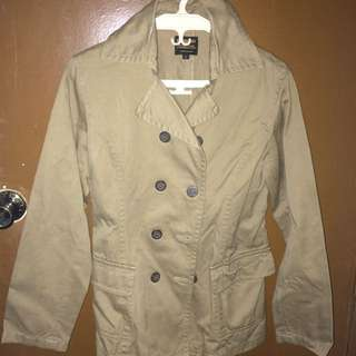 Brown Mid Trench Coat (REPRICED)