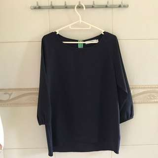 Starmimi Navy Blue Blouse