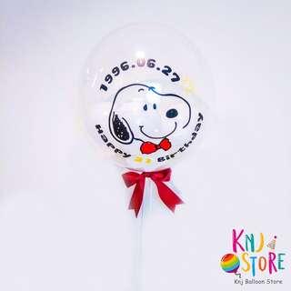 🚚 生日空飄禮盒到你家 生日快樂氣球