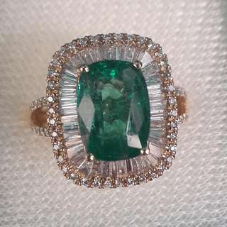 Brand New Emerald Ring