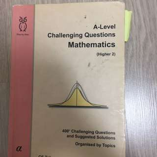 CS Toh Challenging Mathematics Questions 3.0