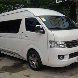 Affordable Van For Rent Van For Hire Super Low Rate Car For Rent