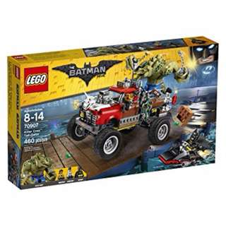 *LegoAsh* 70907  Killer Croc Tail-Gator Batman Movie Lego