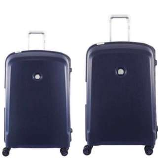 26 and 28 Inches Delsey Belfort Luggages In Dark Blue
