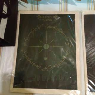 Lord Of The Rings Artwork Set