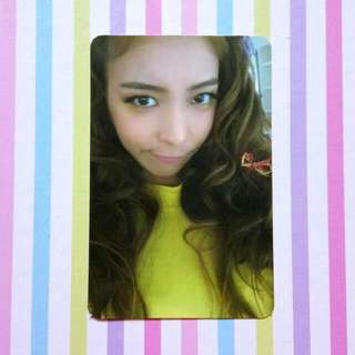 [Official Photocard] f(x) 4th Album 4 Walls - Luna